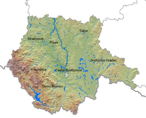 Jihomoravský kraj pohoří